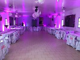 Déco LED pour mariage Marseille