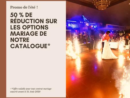 Mariages 2021 - Promo de l'été !