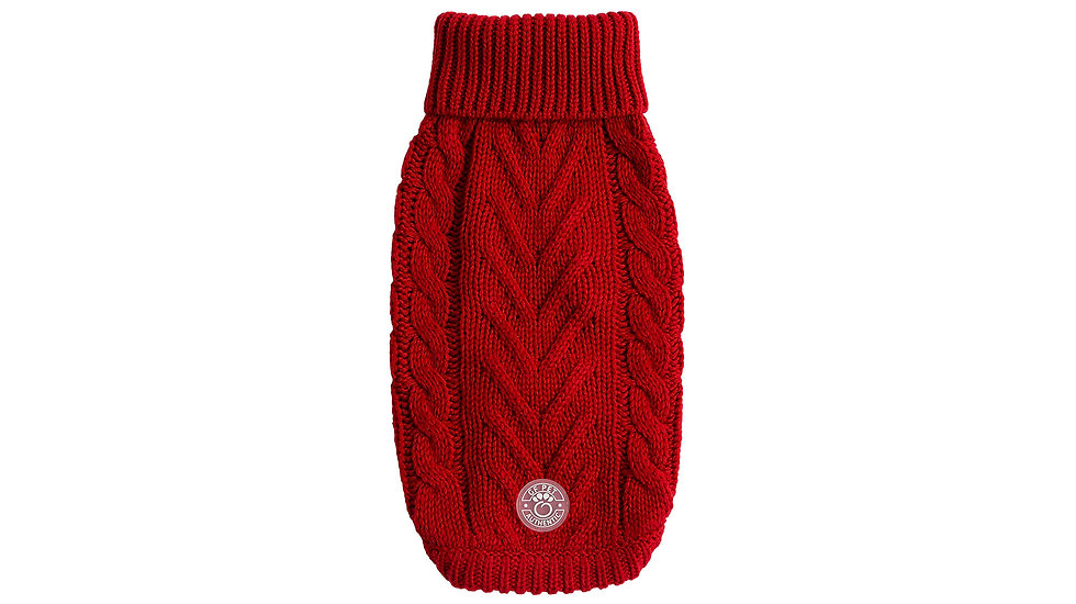 CHALET SWEATER - RED