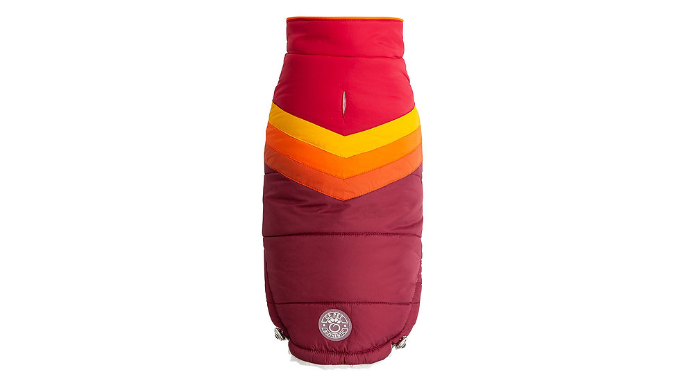 SUMMIT PUFFER - RED