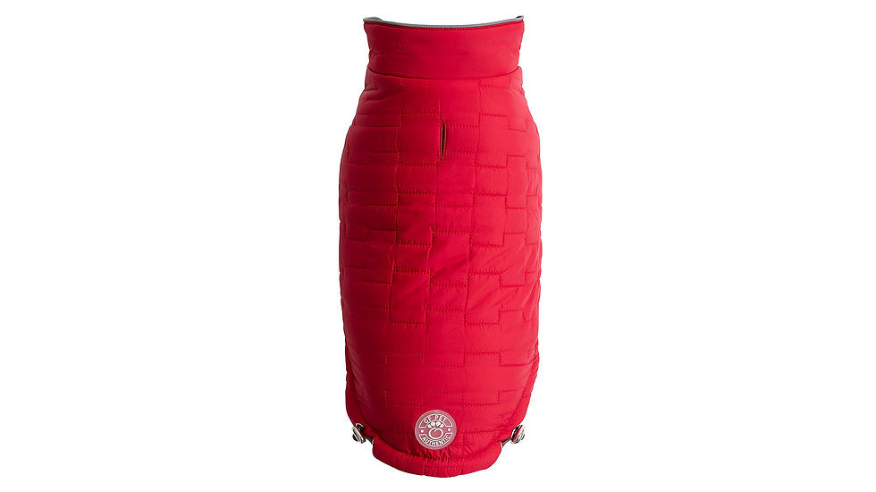 REVERSIBLE CHALET JACKET - RED