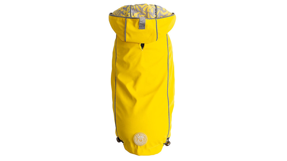 REVERSIBLE RAINCOAT - YELLOW