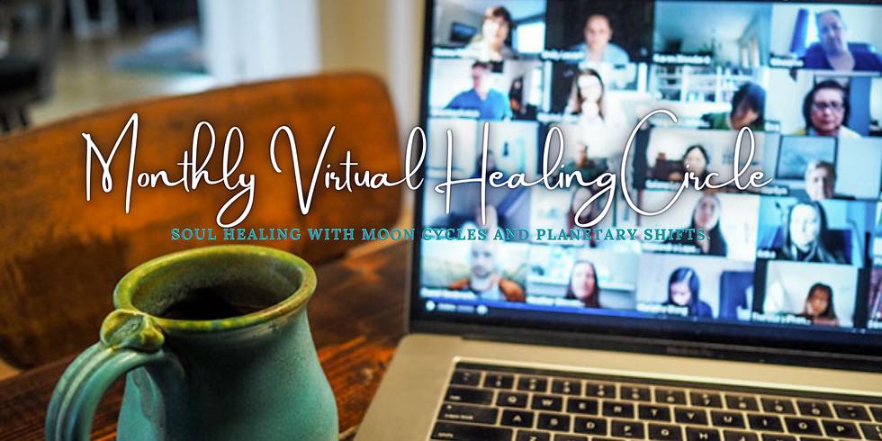 Monthly Virtual Healing Circle May