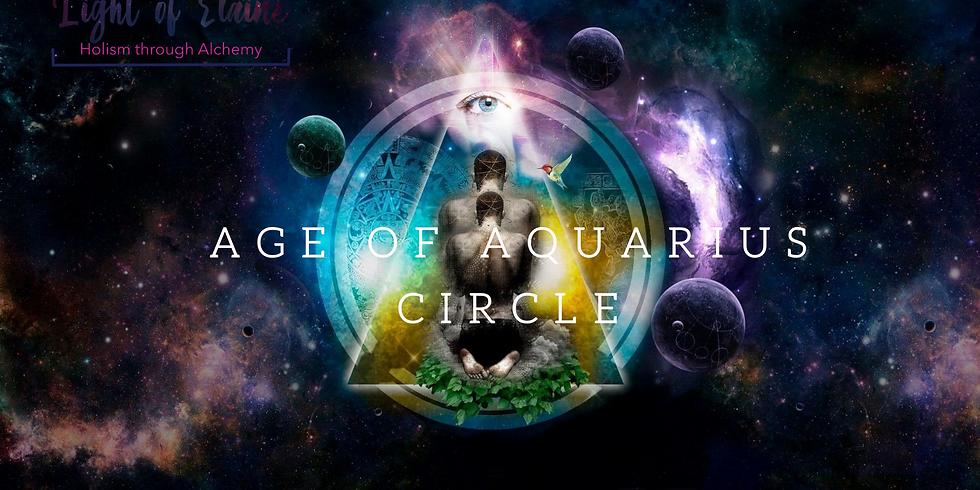 Age of Aquarius Circle April