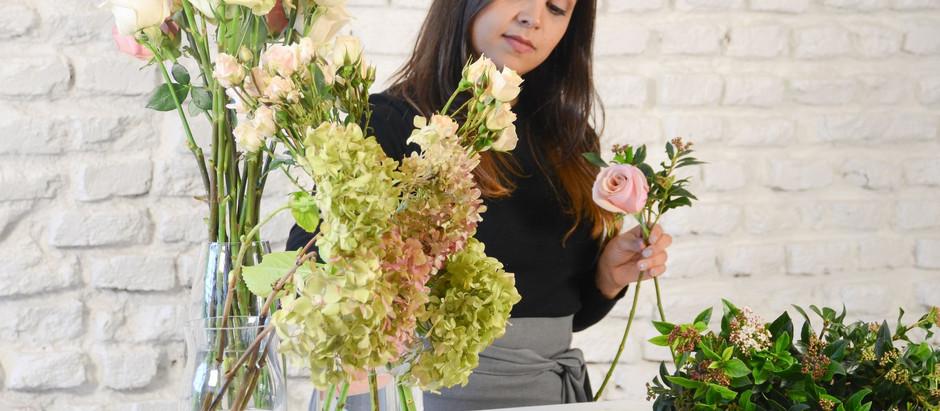 Operación flores! Salomé González la diseñadora estrella de los workshops florales