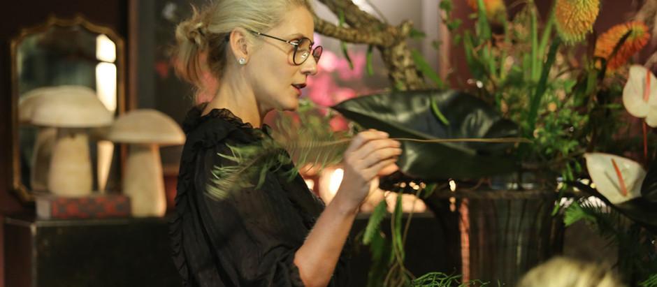 Lucia Milan, marca registrada en el mundo del diseño floral  paulista