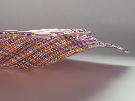 Faux-weave platter / Pladenj v izgledu tkanja