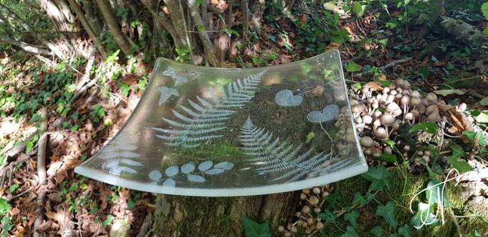 'Forest Fairytale' serving platter / servirni krožnik 'Gozdna pravljica'
