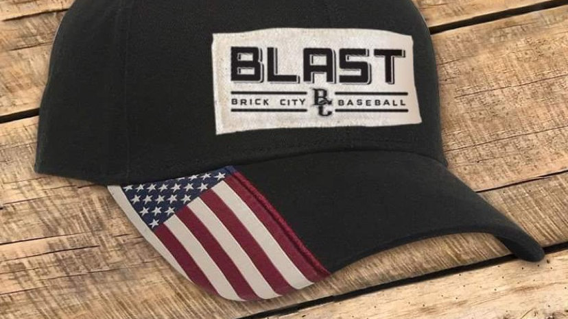 UNISEX BLACK BLAST FLAT HAT BCF
