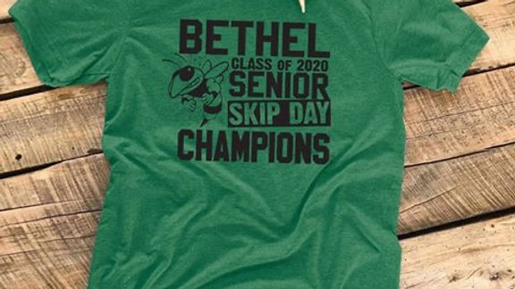 BETHEL SENIOR SKIP DAY CHAMPIONS Unisex Tee