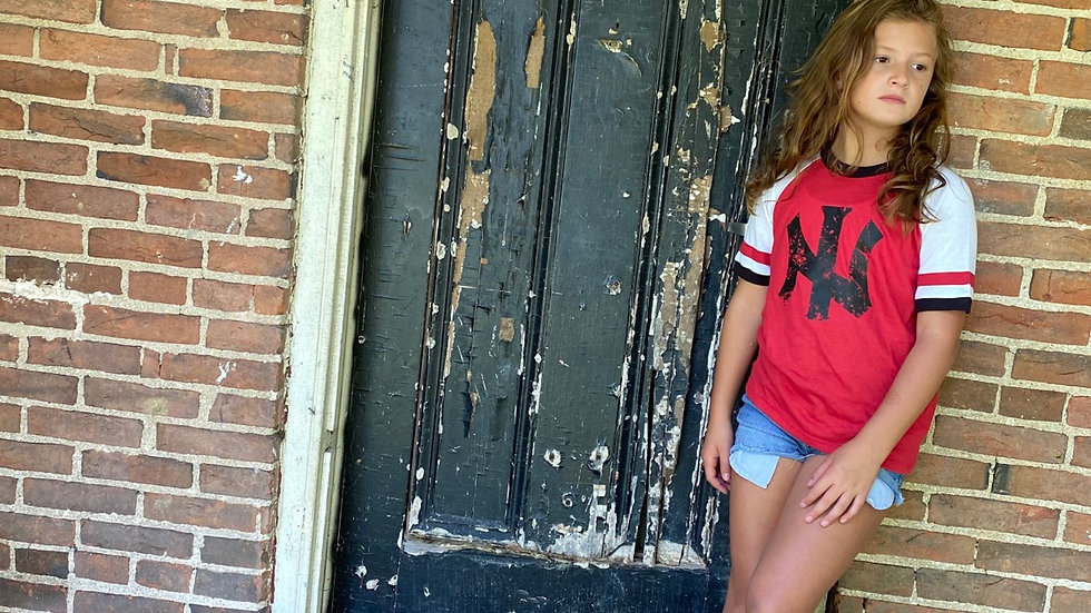 UNISEX ADULT & YOUTH NI RED VINTAGE JERSEY TEE