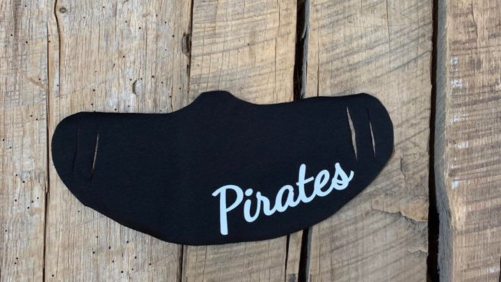 Hook white pirates face mask