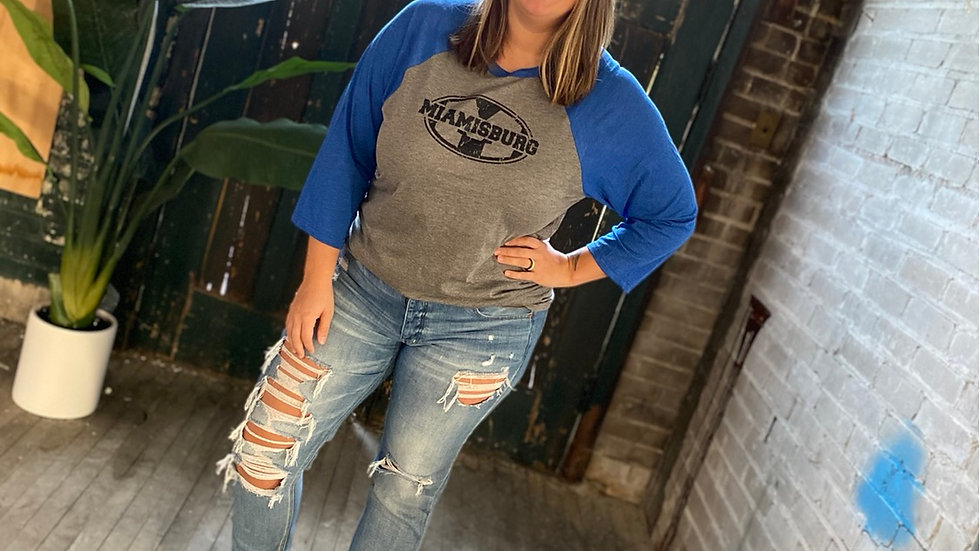 UNISEX ADULT & YOUTH MIAMISBURG BASEBALL TEE