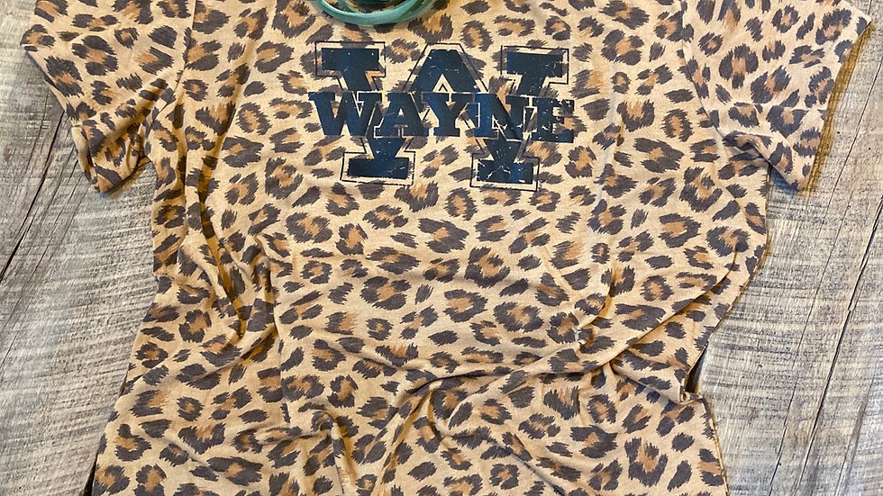 WOMENS ADULT & YOUTH LEOPARD TEE