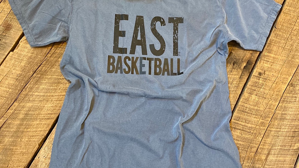 UNISEX ADULT & YOUTH EAST BASKETBALL DYES TEE