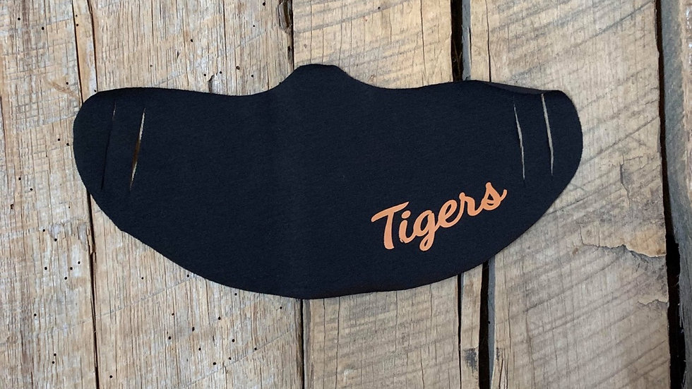 Cookson Tigers face mask