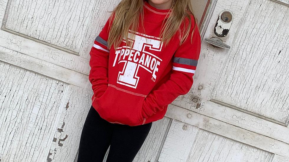 Tippecanoe Women's/Girls Striped Hoodie