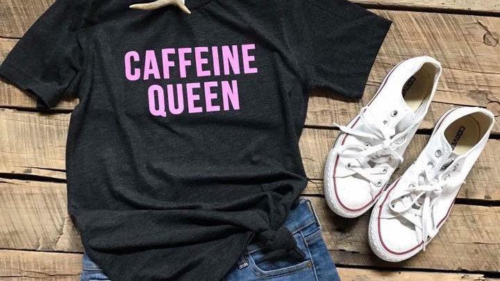 Caffeine Queen Unisex Tee