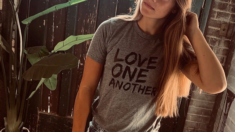 Unisex LOVE ONE ANOTHER TRIBLEND TEE