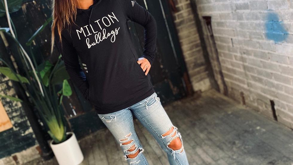 WOMENS ADIDAS MILTON BULLDOGS HOODIE