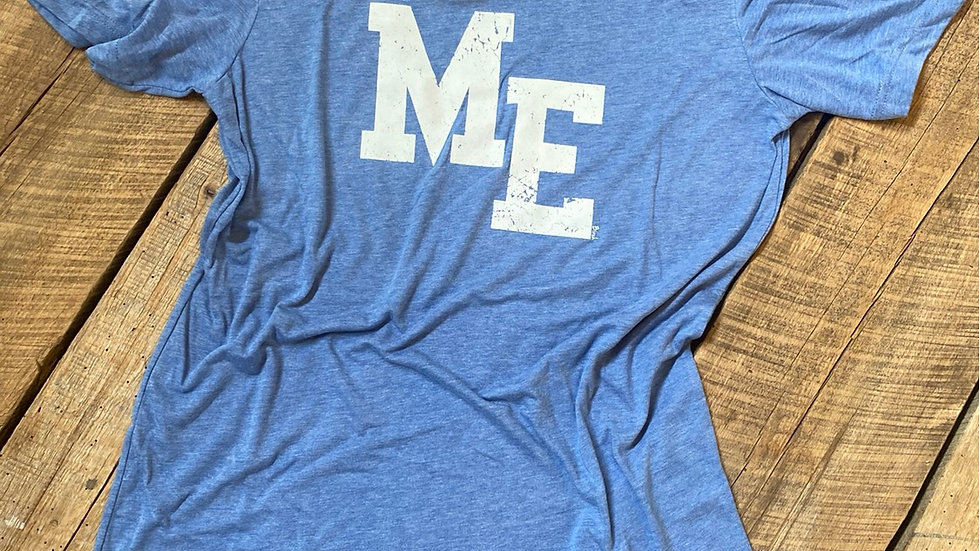 UNISEX ADULT & YOUTH ME BLUE TRIBLEND TEE