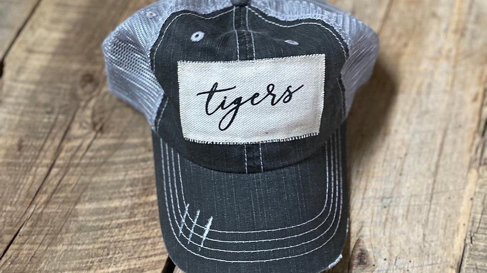 UNISEX TIGERS VINTAGE HAT