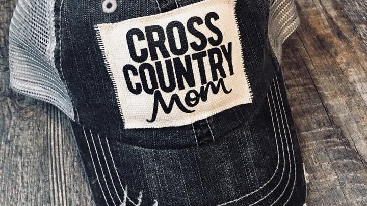 CROSS COUNTRY MOM VINTAGE HAT