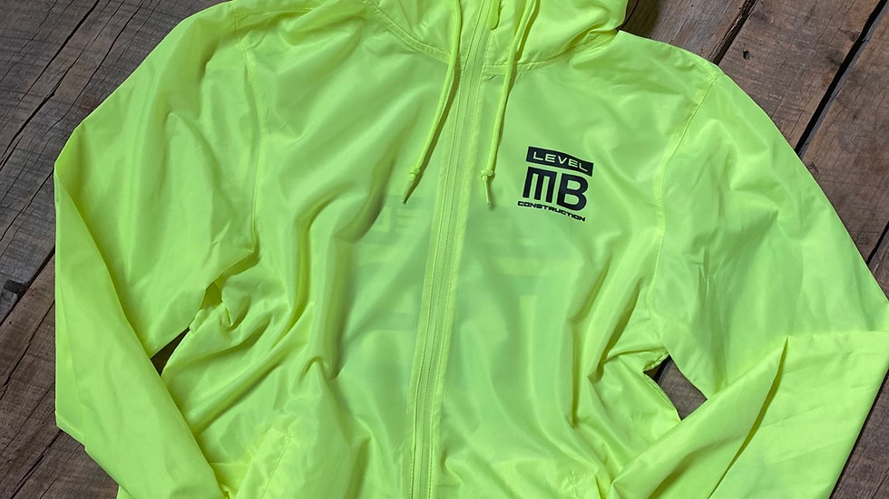 LEVEL MB SAFETY YELLOW WINDBREAKER