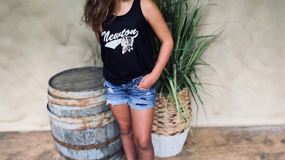 WOMENS & GIRLS RACERBACK NEWTON TANK