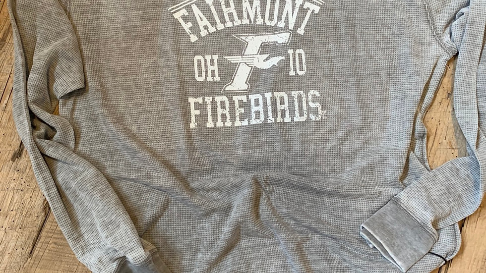 UNISEX FAIRMONT FIREBIRDS VINTAGE THERMAL
