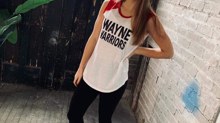 WAYNE WARRIORS JERSEY TANK