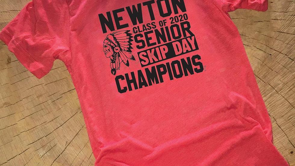 NEWTON SENIOR SKIP DAY CHAMPIONS Unisex Tee
