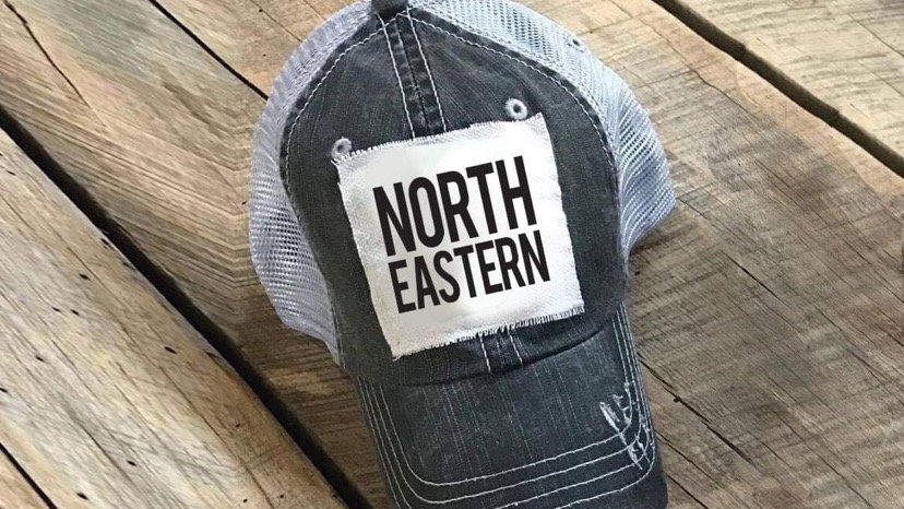 NORTHEASTERN VINTAGE HAT