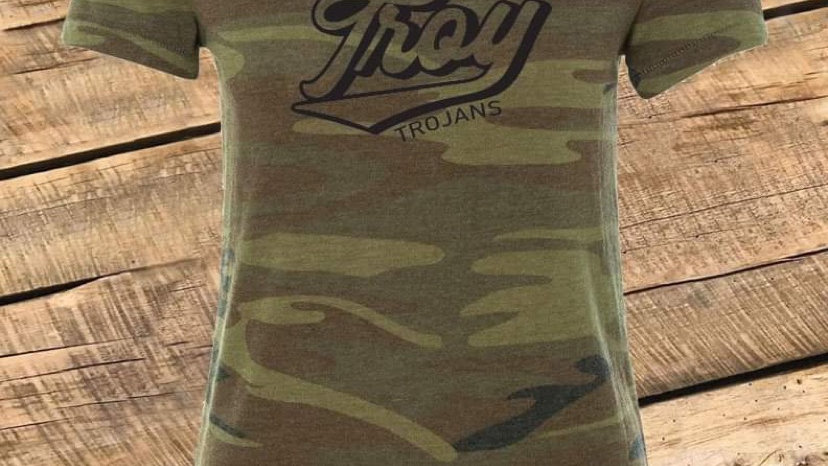 WOMENS RETRO TROY CAMO TEE CF