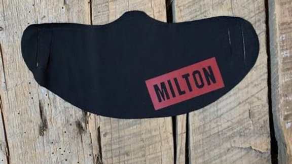 Milton Union red box Milton face mask