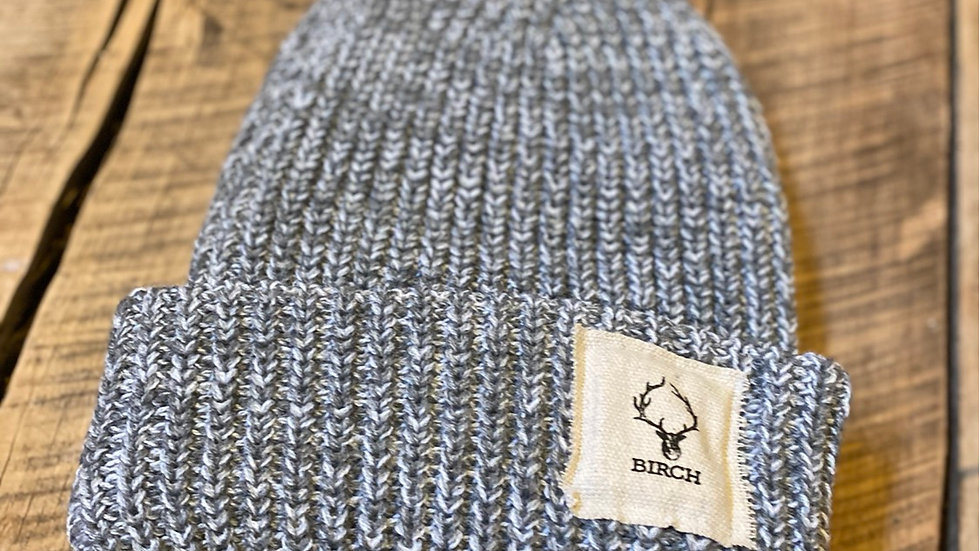 BIRCH PATCH BLACK FLECK BEANIE