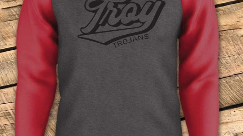 UNISEX ADULT & YOUTH RETRO TROY GAMEDAY HOODIE CF
