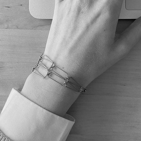 Stacking Regions Bracelet