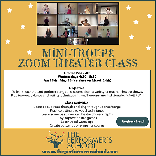 2021 2nd-4th Mini-Troupe Zoom Class