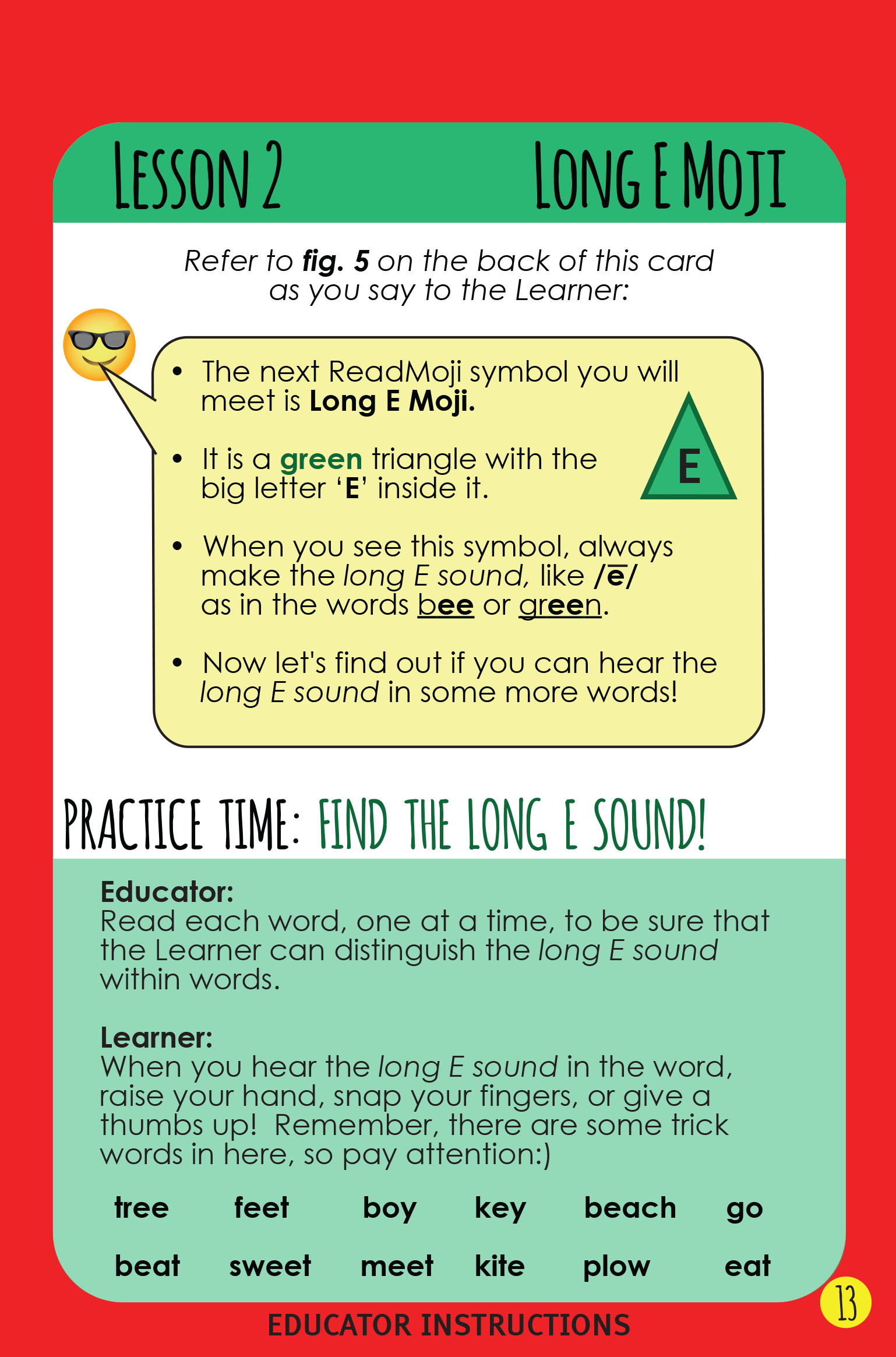 Lesson in Educator Booklet