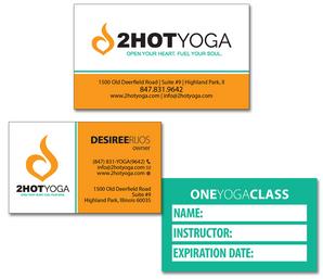 2Hot Yoga Business Card