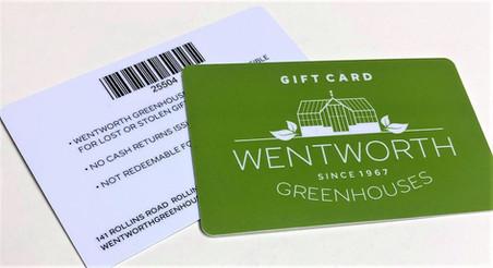 Gift Card w/ Barcode