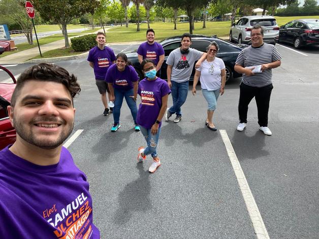 Samuel Vilchez Santiago - People powered movement