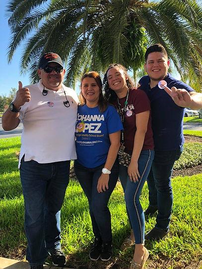 Samuel Vilchez Santiago and Family Vote