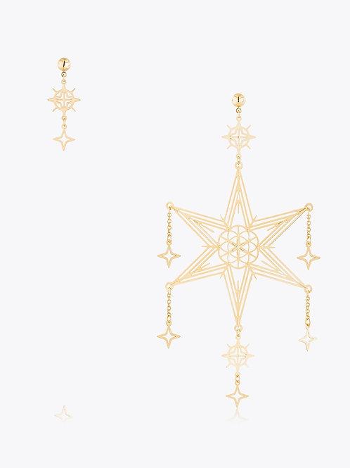 Maxi Brinco de Estrelas Assimétrico