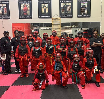 Atlanta Martial Arts Academy.  My sparri