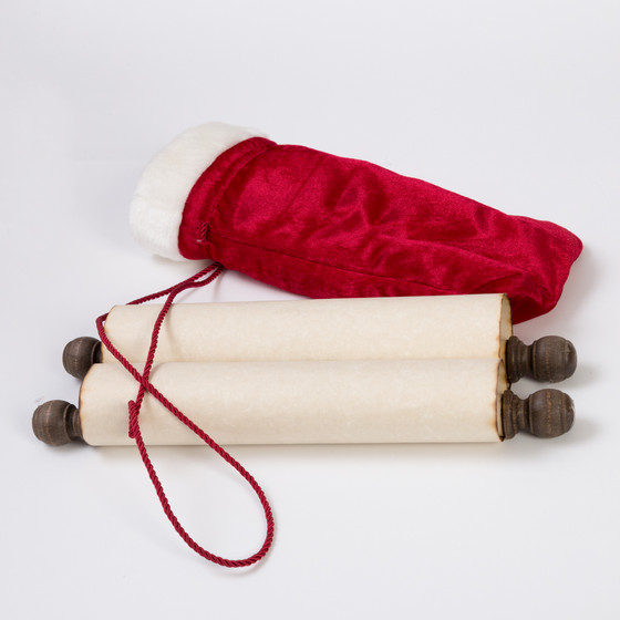 Scroll and Its Pouch