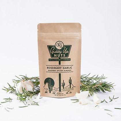 2 OZ SNACK SIZE BAG- Rosemary Garlic
