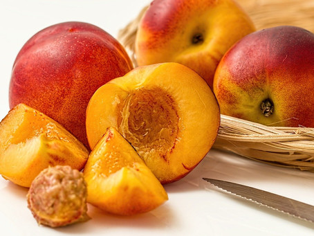 August brings us an abundance of summer fruits and vegetables such as apricots, peaches, nectarines,