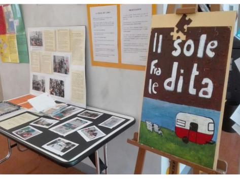 Ivonne Sensi: dalla lettura in classe alla realizzazione di una mostra in biblioteca